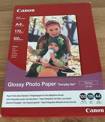 Canon Glossy Photo Paper GP-501 A4 210 gsm 100 Sheets