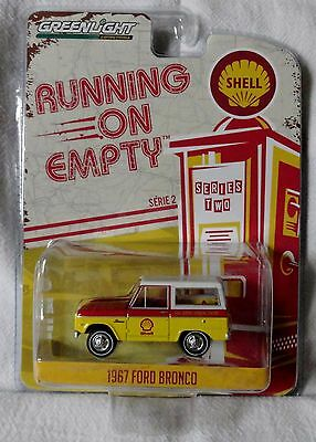 """2017 GreenLight """"Running On Empty"""" 1967 Ford Bronco, Ships World Wide"""