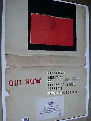 Radiohead - Magazine Cutting (Full Page Advert) (Ref T12)