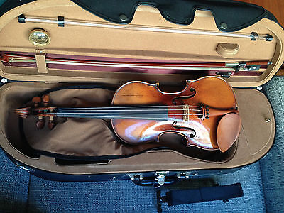 German Violin 4/4 - incl. bow and case