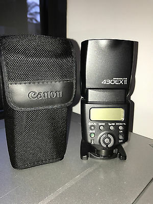 Canon Speedlite 430EX II Shoe Mount  Camera Flash for For Canon - like new