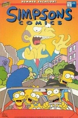 Simpsons Comics # 10 Fine (F) Bongo Comics