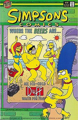 Simpsons Comics # 14 Fine (F) Bongo Comics