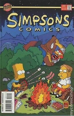 Simpsons Comics # 21 Fine (F) Bongo Comics