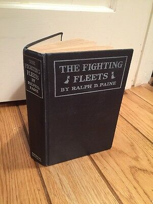 vintage book 1918 The FIGHTING FLEETS by Ralph Paine