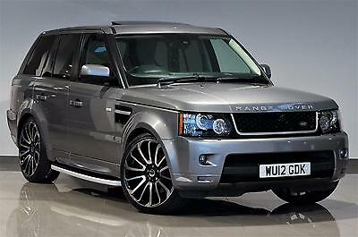 2012 Grey Land Rover Range Rover Sport 3.0 SD V6 HSE - AUTOBIOGRAPHY LOOKS