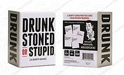DRUNK STONED OR STUPID- Brand New - Adult Party Game