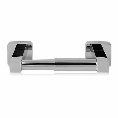 Chrome Finish Traditional Bathroom Wall Accessories Toilet Roll Paper Holder UK