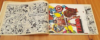 THE TITANS No 1 UK MARVEL COMIC WITH ORIGINAL FREE GIFT POSTER COLOUR