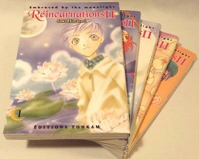 Réincarnations 2 Embraced by the moonlight - Manga (5 tomes sur 10, incomplet)
