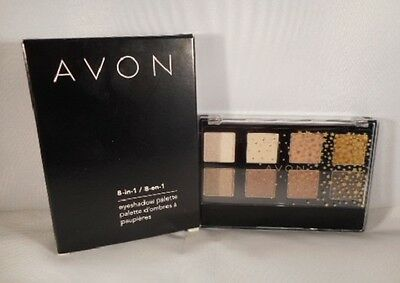 New Avon True Colour 8 in 1 Eye shadow palette Nude Shimmer Browns