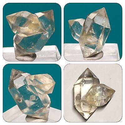Clear Quartz 'Herkimer Diamond' Crystal Mined In Yunnan China 2g