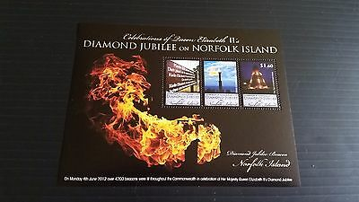 Norfolk Island 2012 Sg Ms1143 Diamond Jubilee.  Mnh