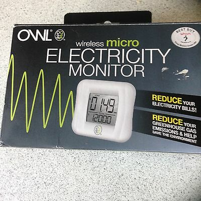 OWL wireless micro ELECTRICITY MONITOR
