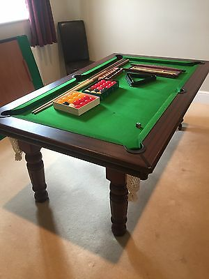 snooker pool dining table