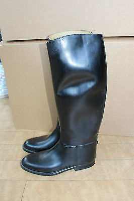 AIGLE COUPE SAUMUR Waterproof Riding Boots Made in France Size 41 / UK 7