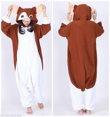 Gizmo Adult Unisex Jumpsuit Kigurumi Animal Cosplay Costume Pajamas Sleepwear
