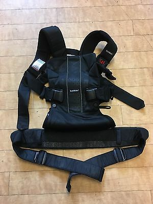 Baby Bjorn Baby Carrier One In Black, VGC
