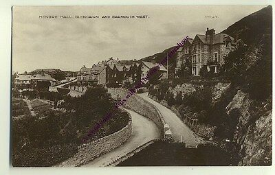 tp1007 - Mendre Hall , Barmouth , Merionethshire , Wales - postcard