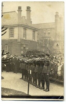 tp2494 - Unknown location of Military Ceremony - postcard