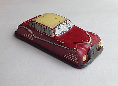 GLAM TOYS PRODUCTS GTP - vintage tinplate - GTP536, CHAUFFEUR DRIVEN CAR - 1950s