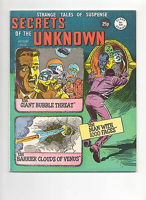 Alan Class - Secrets of the Unknown -   No 226 - 1970's