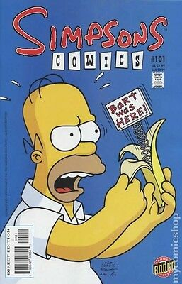 Simpsons Comics # 101 Near Mint (NM) Bongo Comics