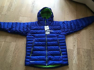 Rab Electron Down Insulated Jacket, Men's Size XL, Colour - (Blue)