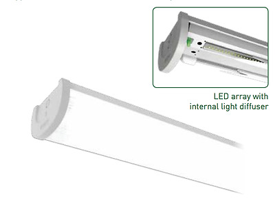 5Ft Led Light Fitting Twin Multiple Available Office & Weatherproof Fluorescent