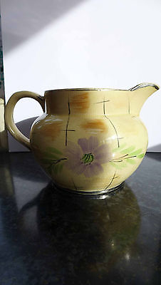 Arthur Wood large pottery jug. From the 1930's. Floral pattern