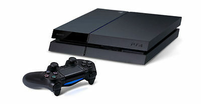 SONY Playstation 4 PS4 500GB Console Black + Controller + Cables