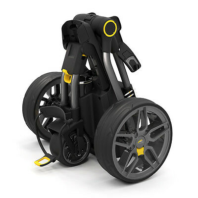 """new Out"" Powakaddy Compact C2 Electric Golf Trolley + 18 Hole Lithium Battery"