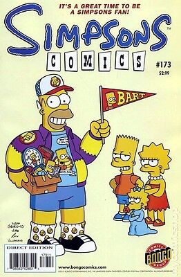 Simpsons Comics # 173 Near Mint (NM) Bongo Comics