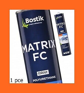1 X Bostik Polyurethane Sealant / Adhesive Cartridge 310Ml.like Sikaflex Sealer
