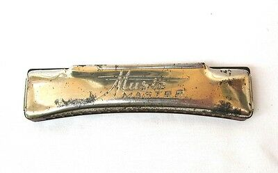 Vintage antique Music Master harmonica Mouth organ Made in Germany 40s