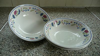 BHS PRIORY cereal bowls x 3 British Home Stores