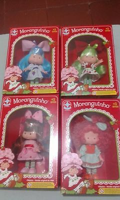 NEW Strawberry Shortcake Brazil 2017 lot of 4. READY TO SEND
