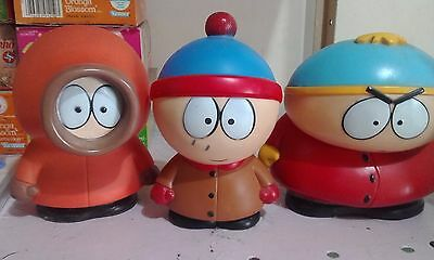South Park Lot Of Vinyl Dolls Kenny, Cartman And Stan  By Fun 4 All