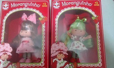 2 NEW Strawberry Shortcake and little APPLE  2017 BRAZIL - READY TO SEND