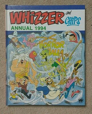 Whizzer and Chips Annual 1994 - MINT
