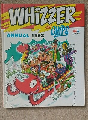 1992 Whizzer and Chips Annual