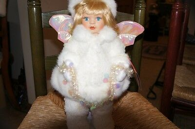 Christmas Around The World Snow Drop Doll - with tag and box