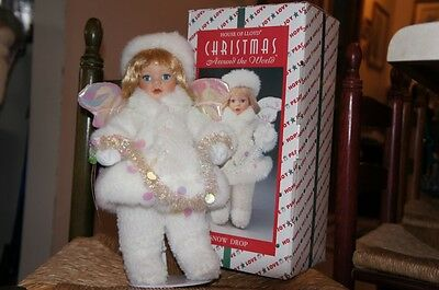 Christmas Around The World Snow Drop Doll with box