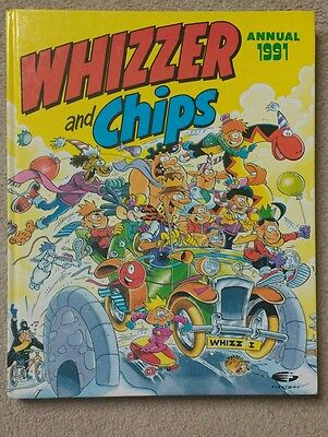 1991 Whizzer and Chips Annual