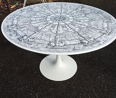retro vintage table Italian 1950s 60s Fornasetti ponti era Heals atomic