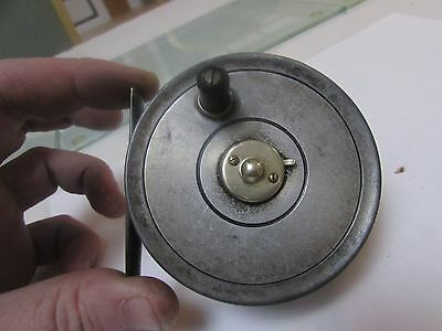 """vintage alex martin club 14A trout fly fishing reel by youngs 3 + 1/8ths"""""""
