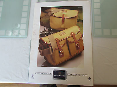 vintage hardy alnwick the aln fly fishing bag poster advert promotional 3