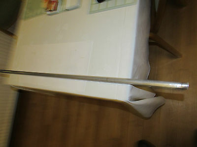 rare vintage hardy alnwick alloy tip tube for split cane fly fishing rod