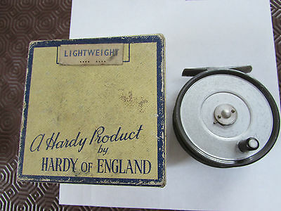 V rare vintage hardy alnwick the lightweight 1st model trout fly fishing reel