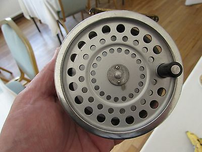 good vintage hardy marquis no. 2 salmon fly fishing reel ..